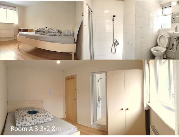 Lovely and sunshine ensuite double room