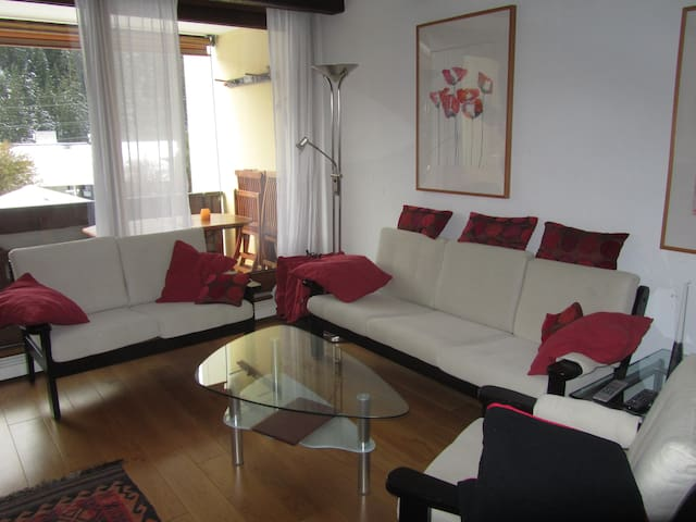 Apartment- Rancho /Laax with pool