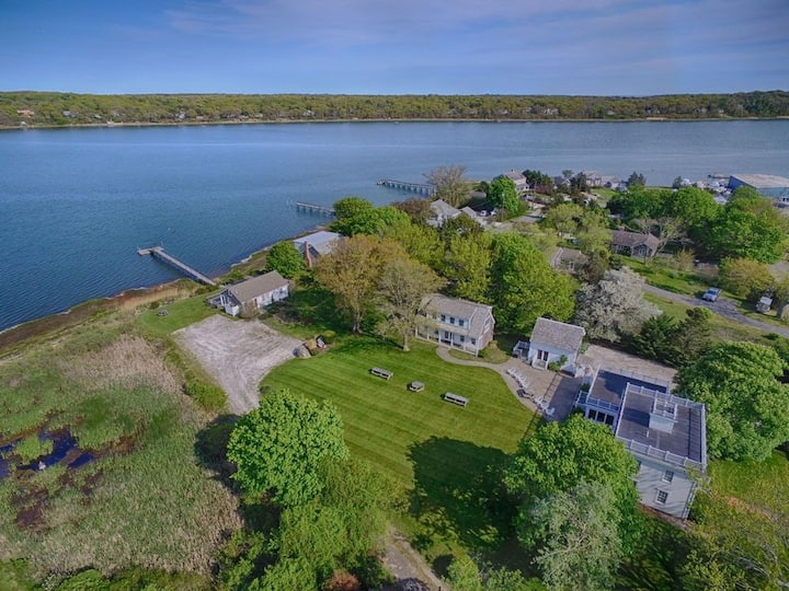 #446: Waterfront Fun Awaits in this Huge Family Estate!