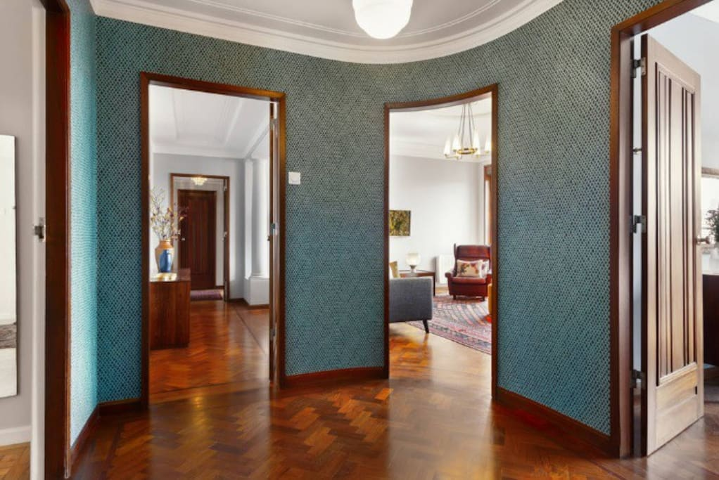 Hall of the apartment