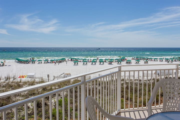 Waterscape A201 Oceanfront!  Remodeled 3BR + Bunkroom ~ A++ View! Must See!