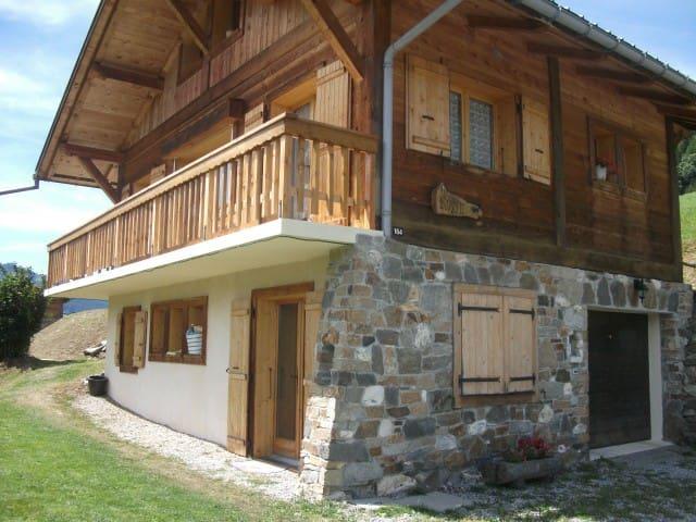 Chalet face au Mont Blanc - Megève - House