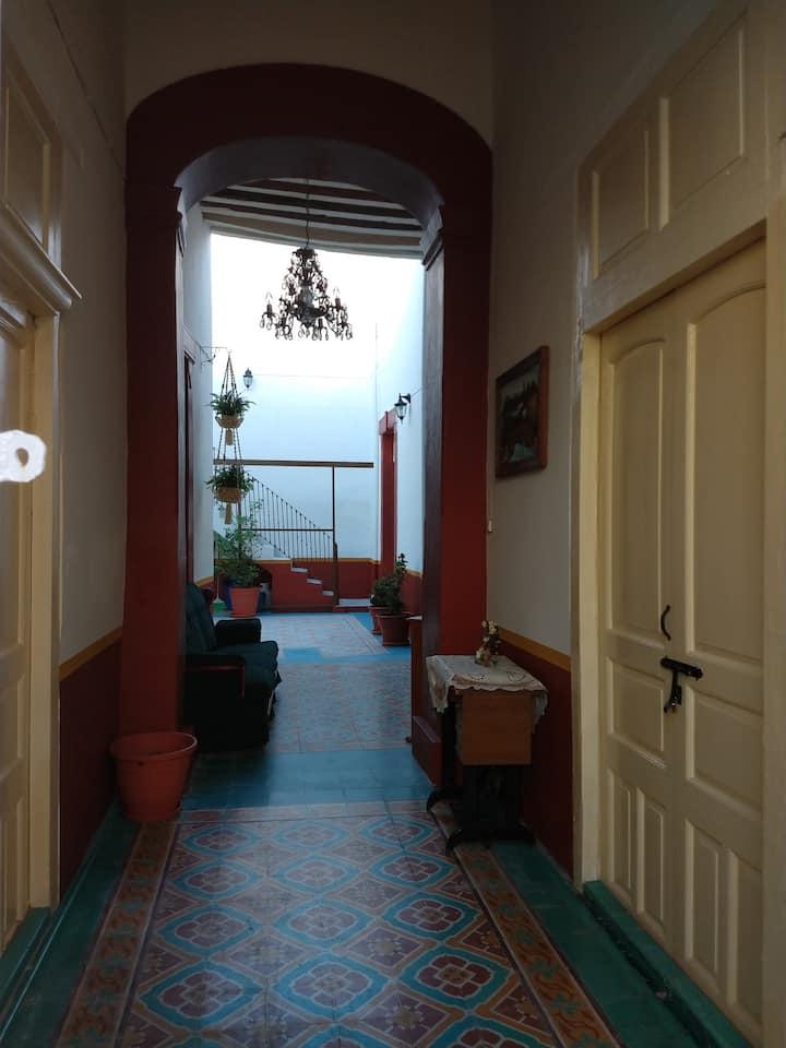 Casa colonial en Aguascalientes