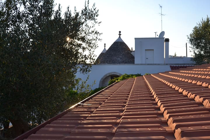 Trulli in the countryside