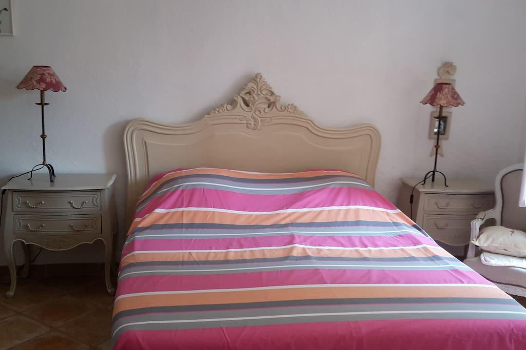 chambre double calme absolu meublee BLANC D'IVOIRE