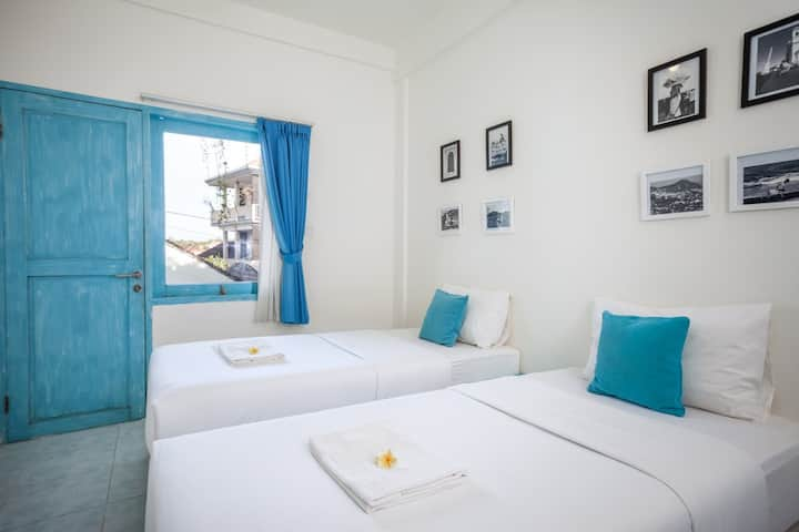 Paras Paros Marina Lodge  Twin Bedroom Room Only