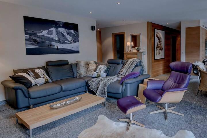 Home Pontresina - Comfort Holidays up to 7 pers.