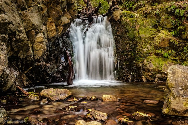 Just one of many walks to majestic waterfalls - on your doorstep
