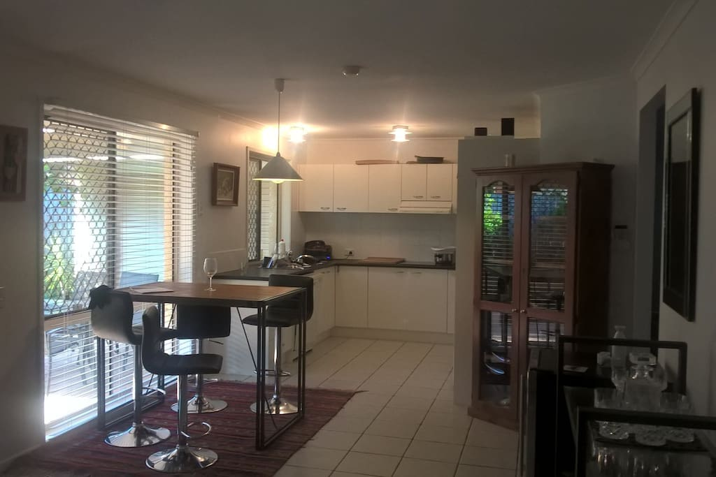 Kitchen dinning area of the property,