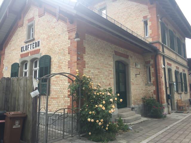 """Bahnhof-Apartment """"BILLET""""  2-4 Pers. AMBIENTE!"""