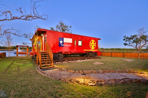 The Belle Plain Caboose