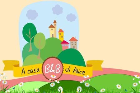 A CASA DI ALICE - B&B E RELAX - BOSIO (AL)