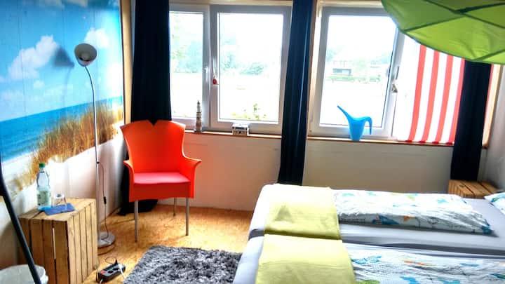 Hostel auf Langeoog: DZ + Biwak als Kombi