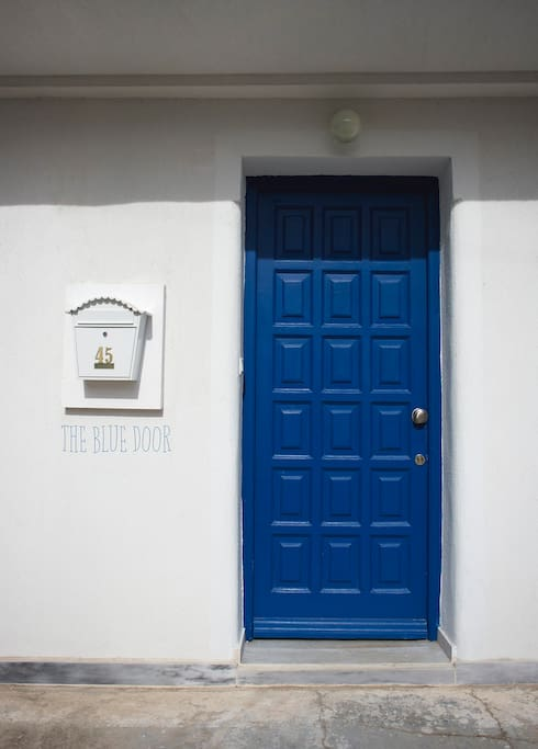 The Blue Door, literally :)
