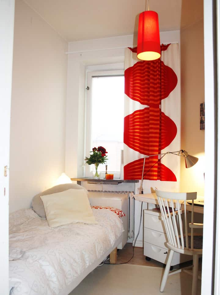 Small but charming room in Malmö