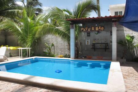 Relaxing beach house at Yucatán - Chuburná - Дом