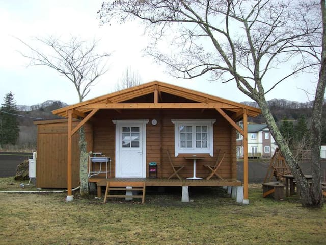 KARUIZAWA Pension HIMAWARI! Stay in a Cottage, and have a BBQ!!! 飲食持ち込みOK!【K】