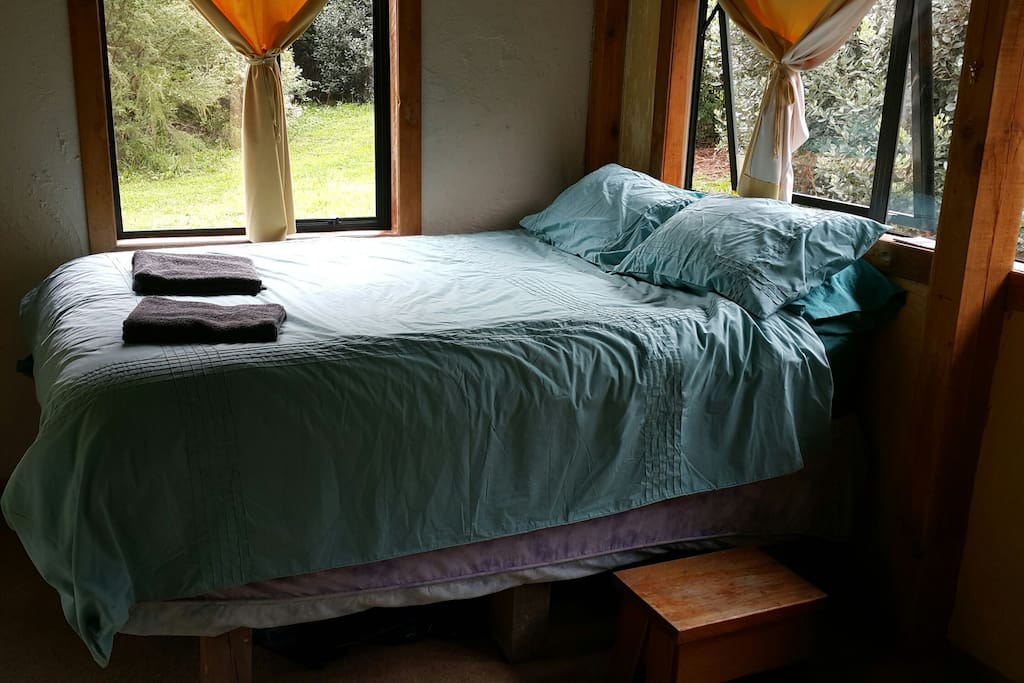bed in 1st cabin