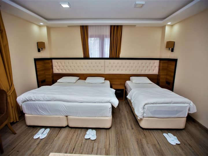 Deluxe Triple Room with Mountain View - Yayla Hotel