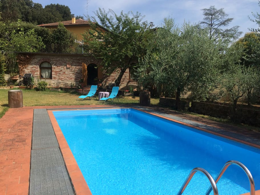 Luxury Cottage In Florence With Swimming Pool Cottages