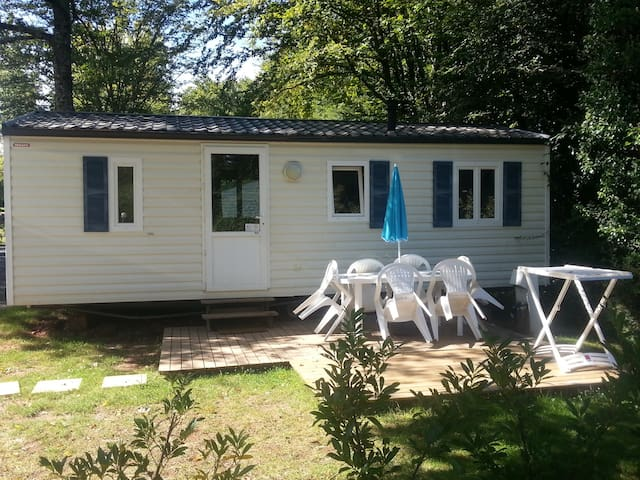Mobil home 6 personnes 3 chambres - Hautefort - Overig