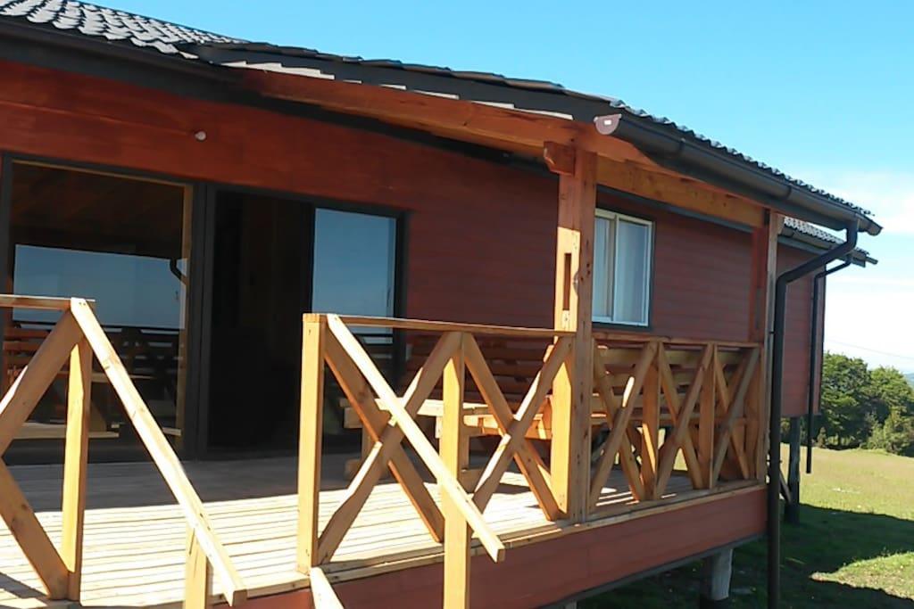 Terraza de la Casa con vista panorámica. imperdible