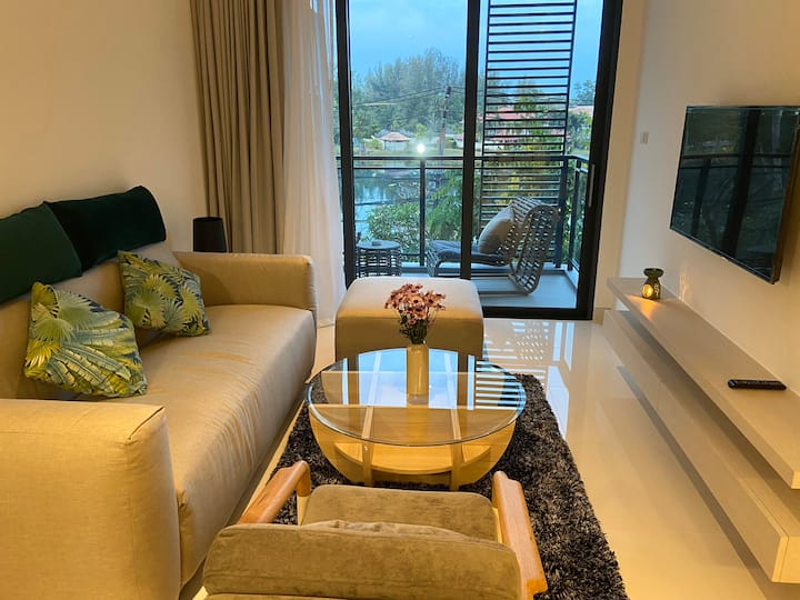 5 mins to BangTao beach luxury 2 bedrooms apt