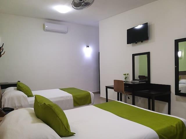 Hotel D Marco Exxpres - Hab - 403 -2 Camas Matrim.