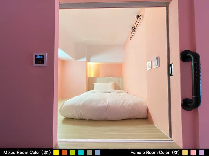 Owl Hostel Single Capsule - Female Dorm