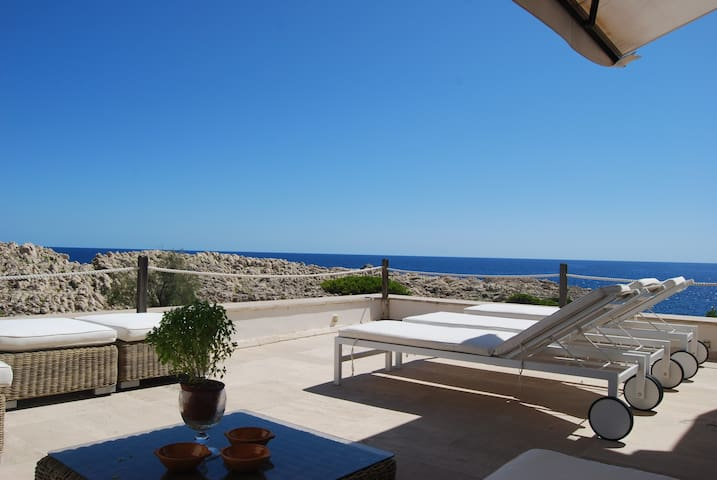Over the sea 180° amazing sea views - Cala Gat - Chalet