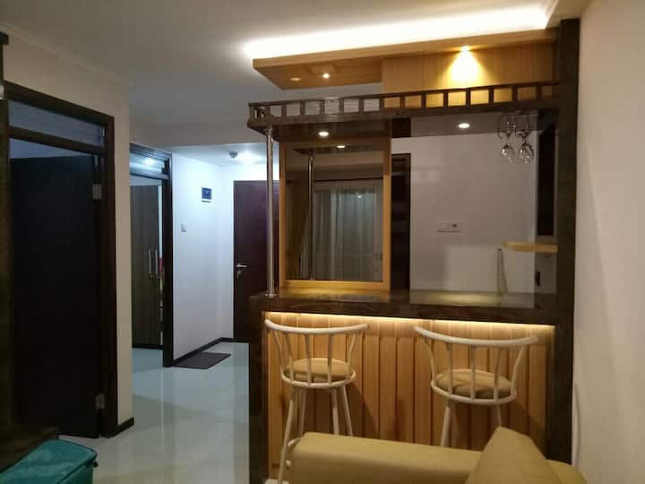 Comfortable apartment in Bandung , Unit 2BR 50 sm.