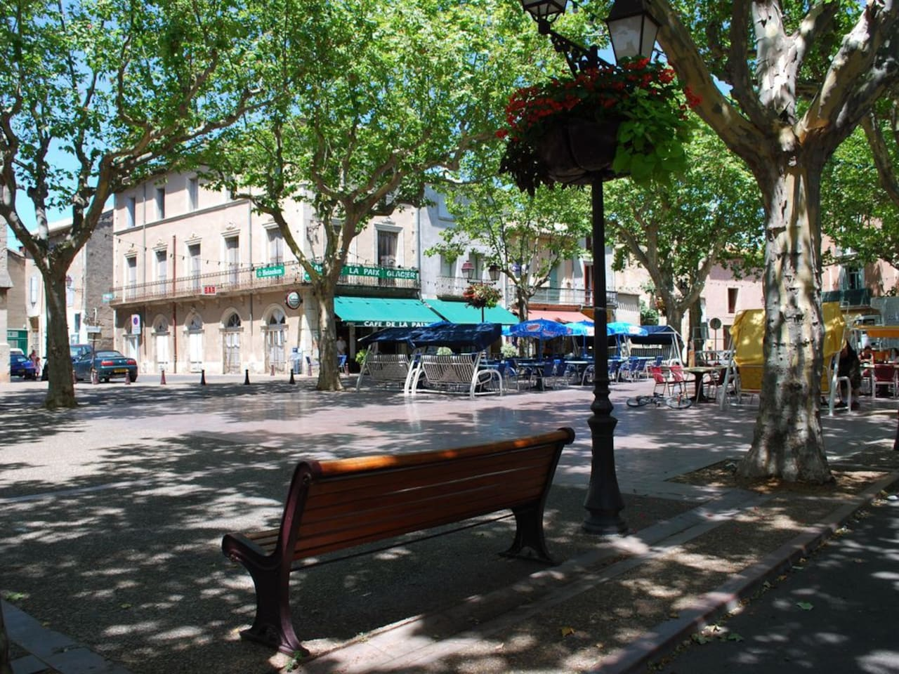 The Square in Capestang
