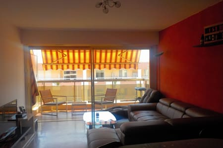Nice 1bdrm appt close to sea with private parking - Antibes