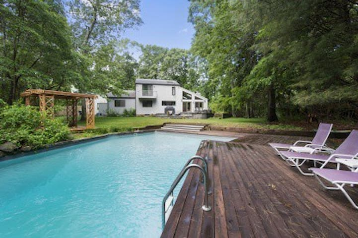 Perfect Hamptons Rental Pool + tenn - Bridgehampton - Σπίτι