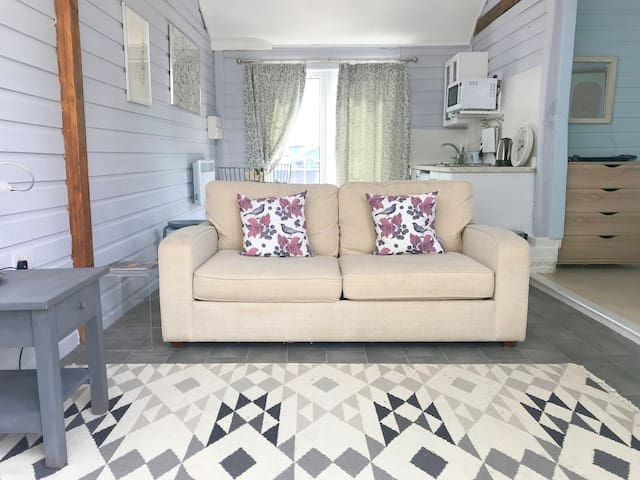 Sofa bed in livingroom