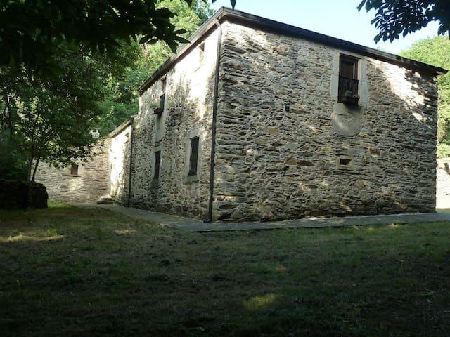 Casa en Red Natura al lado del rio Ladra - Vilalba