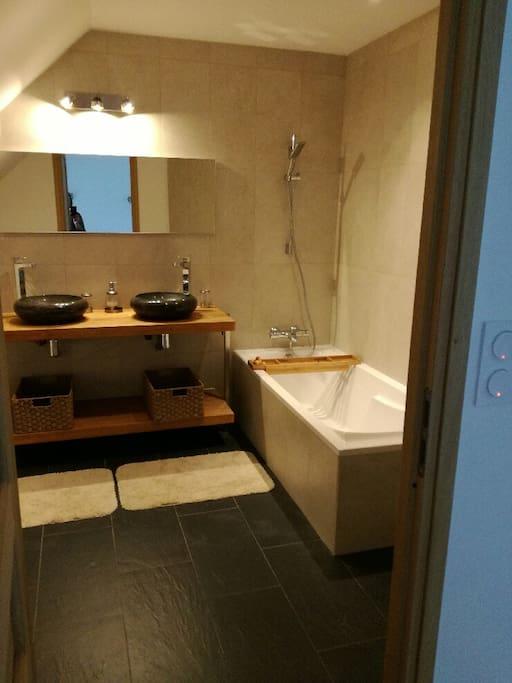 Salle de bain - Chambre Treac'h er gouret