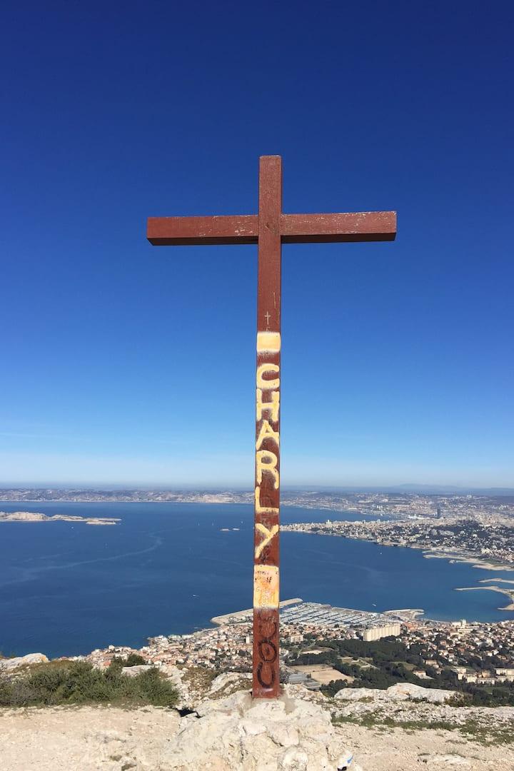 Croix de Marseilleveyre - 433 mètres