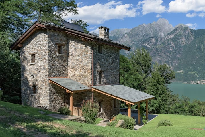 Self Catering Lake Como Villa - Sorico - Hus