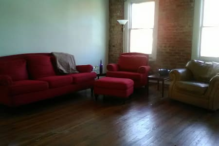 Bar hopper or Antique shopper dream loft - Mebane - Apartment