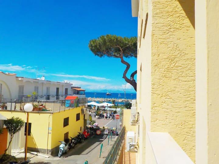 Grazioso appartamento in pieno centro fronte mare
