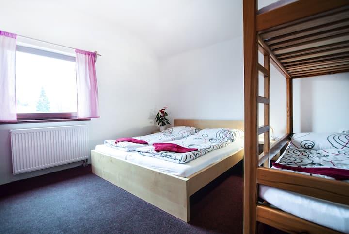 Apartmány Rezek - malý dům (max. 8 osob)