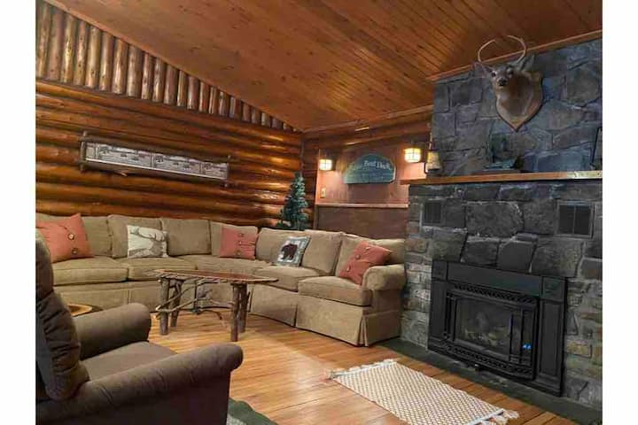 Discounted Long Term Stays, log cabin Lake George