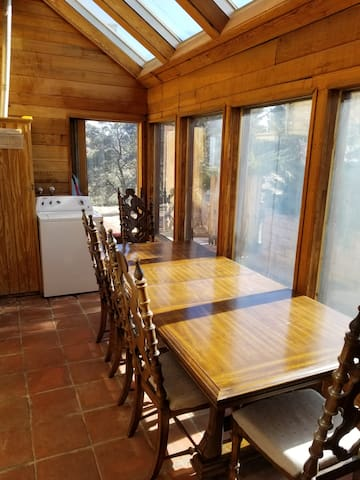 Sun Room with Table and Chairs