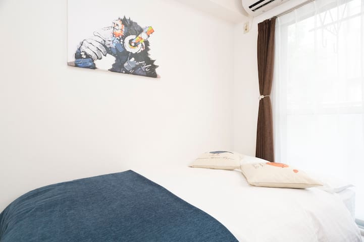 #411 Hakata(博多) Central apartment 4 pax FREE WIFI!