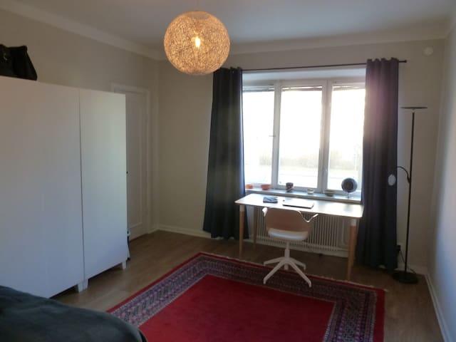 Large bedroom in 2-bedroom apartment in Råsunda