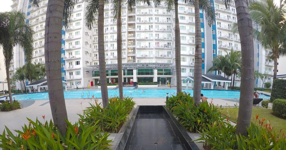 Relaxing Secured CondoTel North EDSA Quezon City