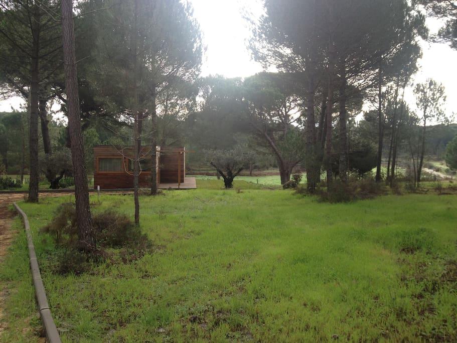 Enquadramento paisagístico do Refúgio