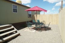 16' x 32' Private picnic area with Bar B Q