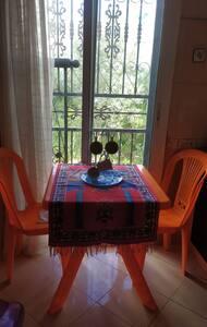 Appartement meublé à louer à Martil avec un jardin